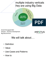 Big Data Use Cases for Different Verticals and Adoption Patterns - Impetus Webinar