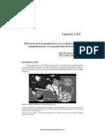 Eficiencia de La Fecundacion in Vitro en La Produccion de Bovinos