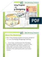 Plumbing & Fire Fighting Designing Trainings @ Hyderabad