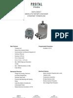 AbsoluteEncoders OCD IndustrialEthernetPowerlink A1 DataSheet DataContent