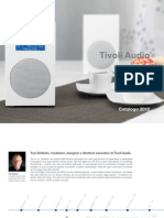 TIVOLI Audio Brochure 2012