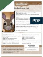 Darla's Bunny Hat