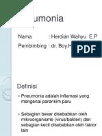 labsus pneumonia pada anak