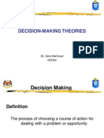 Decision Making Theories