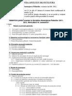 TEMATICA Pentru Examen La Disciplina Amenajarea Padurilor 2009