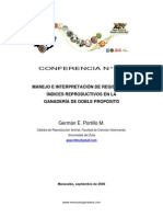 Manejo Interpretacion Registros Indices Reproductivos Ganaderia Doble Proposito