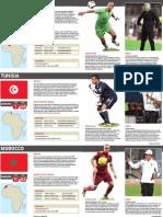 Afcon team profiles