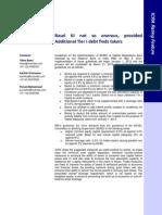 Basel III, Indian Policy