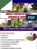 Manejo y Control de Fugas y Derrames de Quimicos