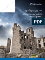 The perfect storm energy, finance and the