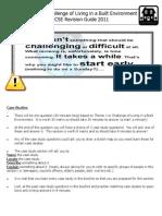 Theme 1 - Case Study Booklet