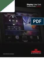 Nu Horizons Electronics Display Linecard Winter 2013