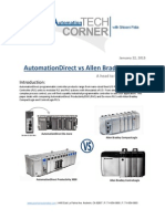 TechCorner 29 - AutomationDirect vs Allen Bradley PLC'sA head to head comparison
