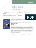 Management and health
