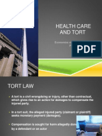 Helathcare and Tort Reform