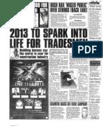 Irish Star 14.01.2013