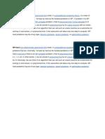 non deterministic  pblms