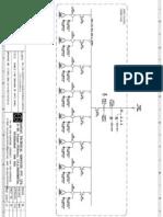Single Line Drawing of APFC Panel