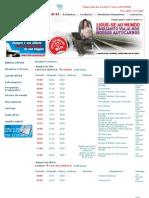 Bus Timetable January 2013 Lisbon - Castelo Branco Portugal