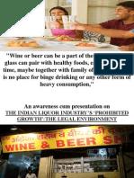 indian liquor industry