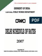 Delhi schedule rate