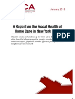 Hc a Financial Condition Report 2013