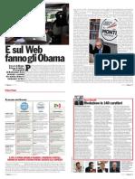 L'Espresso - E sul web fanno gli Obama