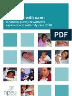 maternity work survey  report
