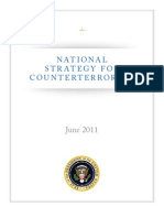 US National Counterterrorism Strategy, 2011