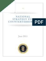 US National Counterterrorism Strategy, 2011