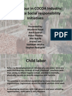 Child Labour in COCOA Industry