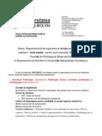 Admitere master SNSPA - resurse umane