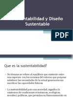 sustentibilidad y diseño sustentabe