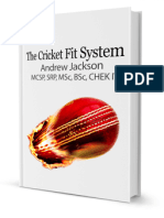 The Cricket Fit System Injury Surveillance
