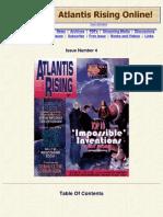 Atlantis Rising Magazine #4