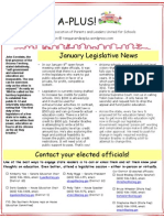 TV A-PLUS January 2013 Legislative Update