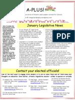 TV A-PLUS January 2013 Legislative Update