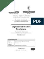 Legislation Educative Ecuadorian