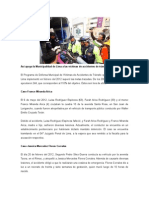 Así apoya la Municipalidad de Lima a las víctimas de accidentes de tránsito