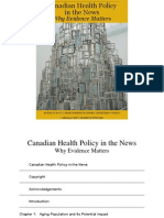 Canadian Health Policy in the News