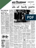 LB Press Telegram, April 25, 1973 page 1