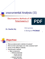 Lecture 3 - Potentiometry 1