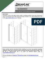 Dreamline Elegance_manual.owners Manual Instructions Westside Wholesale Call 1 877 998 9378