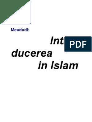 Intalnirea serioasa a omului musulman