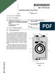 Keshe Foundation Micro Plasma Energy Reactor, European Patent Filing, Patent application number 05447236.0