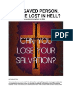 Can A Saved Person Ever Be Lost In Hell? - Duke Jeyaraj's direct answer from the Bible