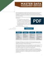 3 CSC Master Data Management Services