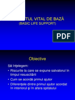 Basic Life Suport / Suportul vital de baza