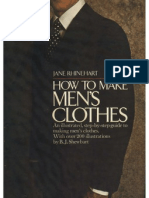 How to Make Men's Clothes