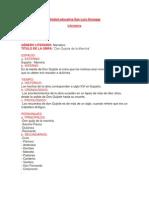 analisis literario don quijote de la mancha